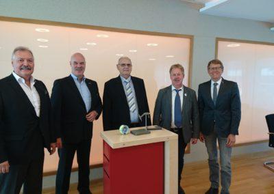 Empfang zum 80. Geburtstag des Obermeisters Emil Esser